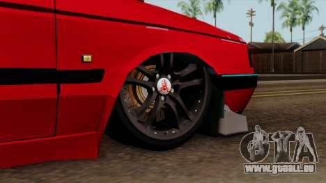 Peugeot 405 Full Sport pour GTA San Andreas sur la vue arrière gauche