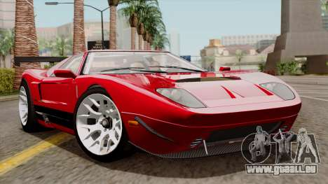 Vapid Bullet GT-GT3 für GTA San Andreas