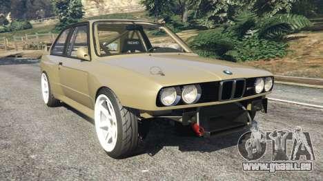 BMW M3 (E30) 1991 Drift Edition v1.0 pour GTA 5