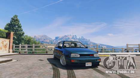 Volkswagen Golf MK3 GTi für GTA 5
