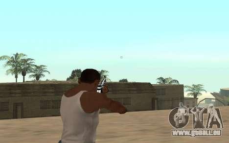 Fusil avec un bébé tigre pour GTA San Andreas troisième écran