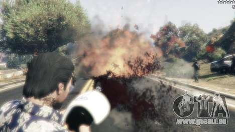 GTA 5 Cinematic Explosion FX 1.12a cinquième capture d'écran