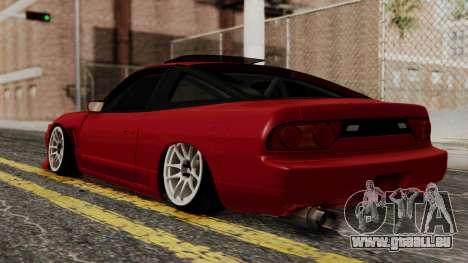 Nissan Silvia Odyvia für GTA San Andreas linke Ansicht