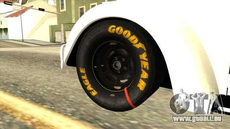 Volkswagen Beetle Herbie Fully Loaded pour GTA San Andreas sur la vue arrière gauche