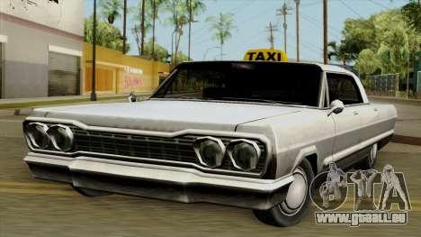 Taxi-Savanna für GTA San Andreas