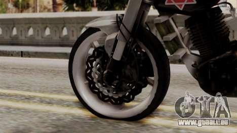 Byson Street Fighter pour GTA San Andreas sur la vue arrière gauche