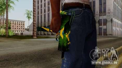 Brasileiro Micro Uzi v2 pour GTA San Andreas troisième écran