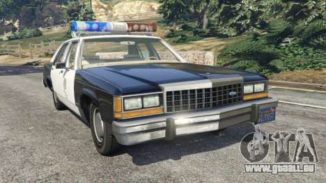 Ford LTD Crown Victoria 1987 LSPD pour GTA 5