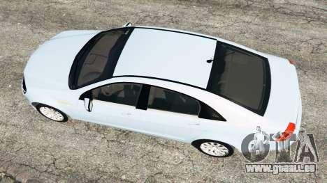 GTA 5 Chevrolet Caprice LS 2014 vue arrière