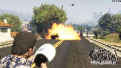 GTA 5 Cinematic Explosion FX 1.12a troisième capture d'écran