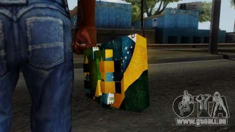 Brasileiro Satchel v2 pour GTA San Andreas troisième écran