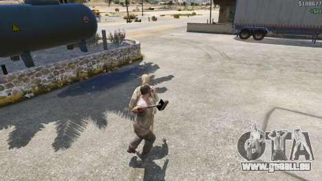 GTA 5 Hammer Shao Kahn aus Mortal Kombat fünfter Screenshot
