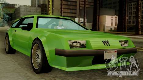 Deluxo from Vice City Stories für GTA San Andreas