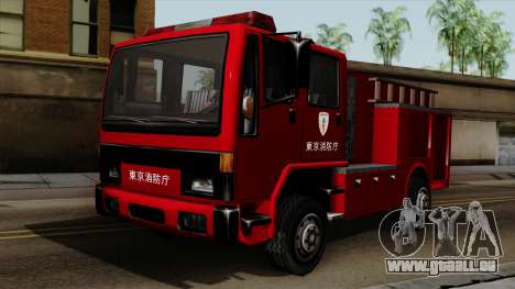 DFT-30 Tokyo Fire Department Pumper für GTA San Andreas