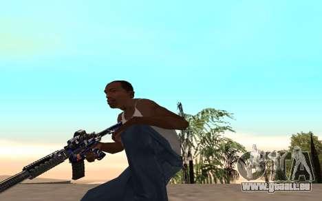 M4 c cub für GTA San Andreas her Screenshot