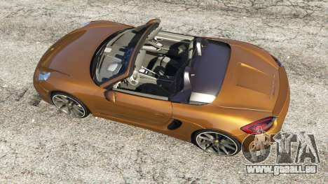 GTA 5 Porsche Boxster GTS Rückansicht
