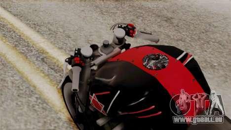 Byson Street Fighter für GTA San Andreas Rückansicht