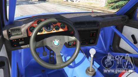 GTA 5 BMW M3 (E30) 1991 Lenkrad