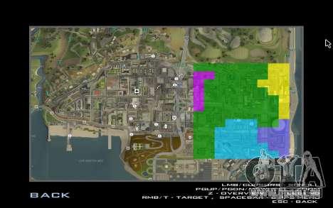 HD-Karte für Diamondrp für GTA San Andreas her Screenshot