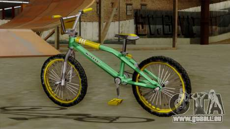 BMX Race from Bully für GTA San Andreas linke Ansicht