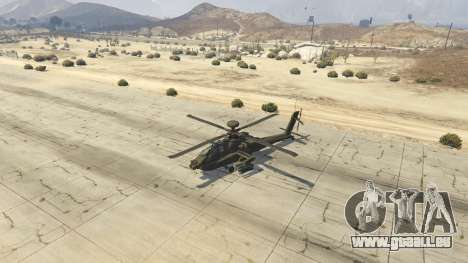 GTA 5 AH-64D Longbow Apache vierten Screenshot