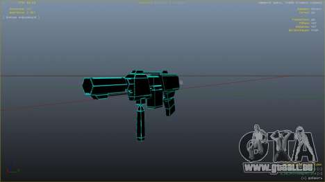 GTA 5 Saints Row 3 Cyber SMG Emissive v1.01 neunter Screenshot