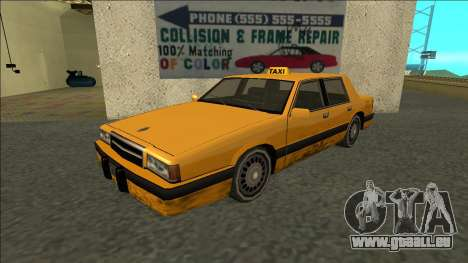 Willard Taxi pour GTA San Andreas