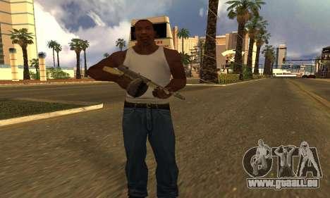 GTA 5 Gusenberg Balayeuse pour GTA San Andreas