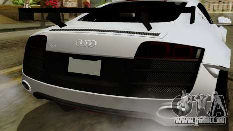 Audi R8 v1.0 Edition Liberty Walk pour GTA San Andreas vue de côté