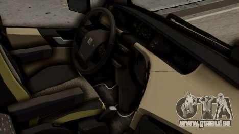 Volvo FH Euro 6 10x4 Exclusive High Cab pour GTA San Andreas vue de droite