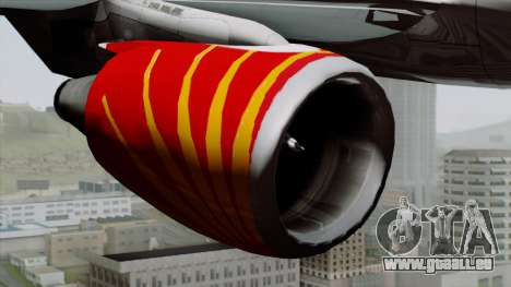 Airbus A320-200 Air India für GTA San Andreas rechten Ansicht