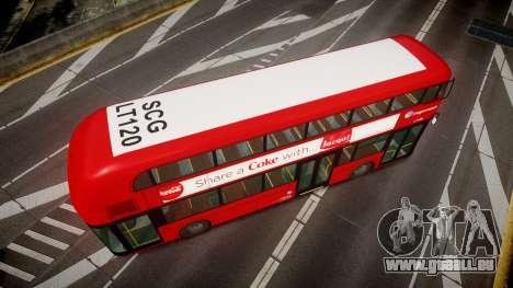 Wrightbus New Routemaster Stagecoach für GTA 4 rechte Ansicht