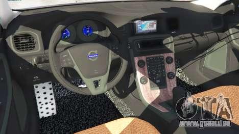 GTA 5 Volvo S60 [Beta] rechte Seitenansicht
