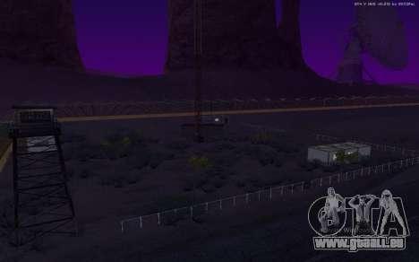 Nouvelle Base Militaire v1.0 pour GTA San Andreas huitième écran