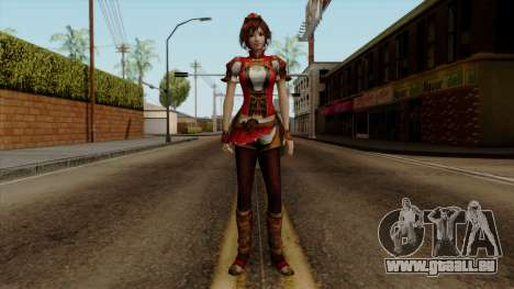 Shin Sangoku Musou 8 - Sun ShangXiang für GTA San Andreas zweiten Screenshot