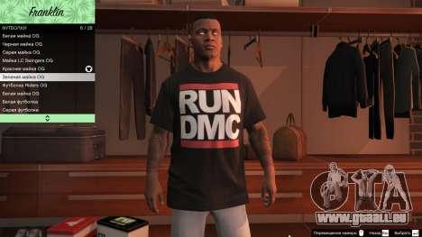 GTA 5 Franklin Hip Hop T-Shirts sechster Screenshot