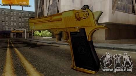 Golden Desert Eagle für GTA San Andreas zweiten Screenshot
