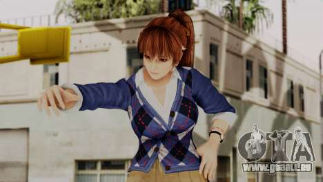 DOA 5 Kasumi Blue Sweater pour GTA San Andreas