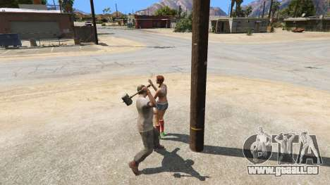 GTA 5 Hammer Shao Kahn aus Mortal Kombat Siebter Screenshot