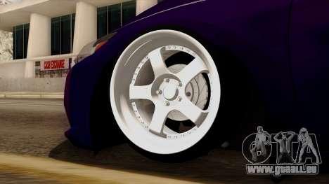 Honda CRZ Hybrid pour GTA San Andreas sur la vue arrière gauche