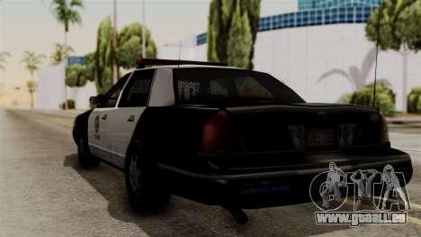 Ford Crown Victoria LP v2 LSPD für GTA San Andreas linke Ansicht