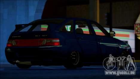 VAZ 2112-Qualität Artikel für GTA San Andreas Innen