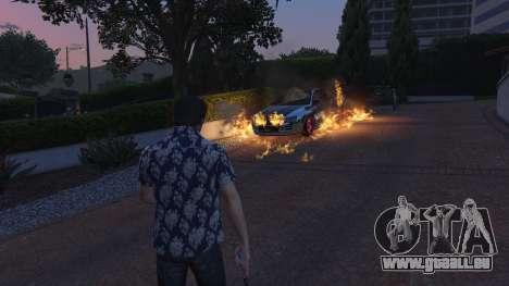 GTA 5 4K Fire Overhaul 2.0 troisième capture d'écran
