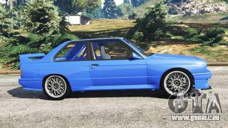 GTA 5 BMW M3 (E30) 1991 linke Seitenansicht