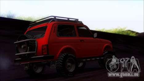 VAZ Niva 2121 Offroad pour GTA San Andreas vue de côté