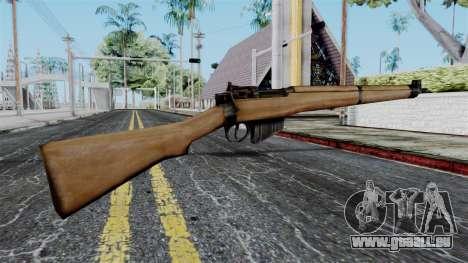Lee-Enfield No.4 from Battlefield 1942 pour GTA San Andreas deuxième écran