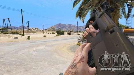 GTA 5 P-90 из Battlefield 4
