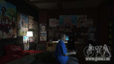 GTA 5 Anime des affiches pour la maison Michael deuxième capture d'écran
