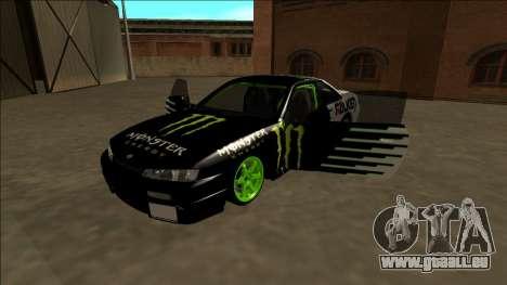 Nissan 200SX Drift Monster Energy Falken pour GTA San Andreas moteur