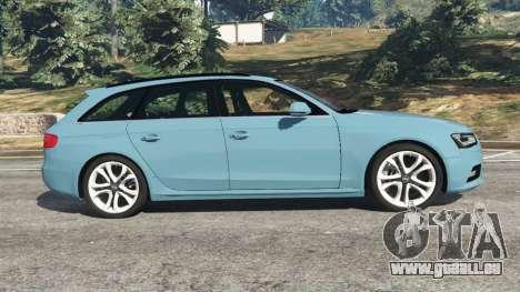GTA 5 Audi A4 Avant 2013 vue latérale gauche